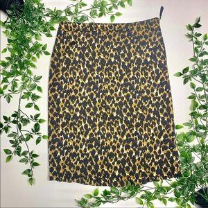 💎BUNDLE💎 Ann Taylor Cheetah Skirt (6)